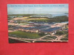 Glenn Martin Co Aircraft Plant Middle River Near Baltimore - Maryland      Ref 3229 - Etats-Unis