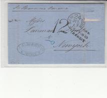 Peru / U.S. / New York Tax / Panama / British Post Offices Abroad - Pérou