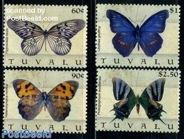 Tuvalu 2009 Butterflies 4v, (Mint NH), Nature - Butterflies - Tuvalu (fr. Elliceinseln)