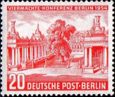 Berlin Poste N** Yv:104 Mi 116 Yv:12 Euro Viermächte-Konferenz Berlin Kleistplatz - Berlin (West)