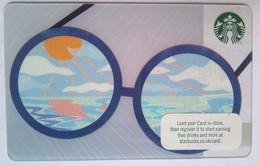 Starbucks  UK  Eyeglasses - Cartes Cadeaux