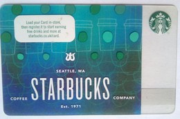 Starbucks UK  Logo - Cartes Cadeaux