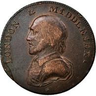Monnaie, Grande-Bretagne, Middlesex, London & Middlesex, Halfpenny Token, 1792 - Regional Coins
