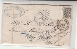 Peru / Panama / U.S. / British Post Offices Abroad / New York / Tax - Pérou