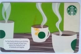 Starbucks USA  Coffee Cup - Cartes Cadeaux