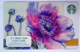 Starbucks USA Flower - Cartes Cadeaux