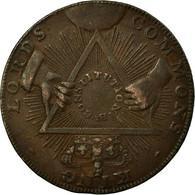 Monnaie, Grande-Bretagne, Middlesex, T & R Davidson, Halfpenny Token, 1795, TTB - Regional Coins