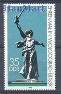 German Democratic Republic 1983 Mi 2830 MNH ( ZE5 DDR2830dav89A ) - Naakt