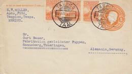 Mexico 1924: Tampico, Tamps To Sonneberg - Mexique