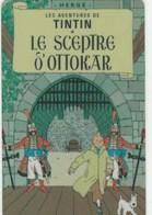 TELECARTE ETRANGERE....TINTIN  LE SCEPTRE D'OTTOCAR - BD