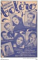 """Partition . """"  Boléro """" .  Tango  Boléro . Paroles De Henri Contet .  Avec Georges Guetary  .  Lucienne Delyle ..... - Partitions Musicales Anciennes"""