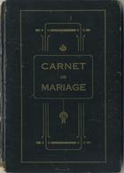 Braine L'Alleud   :  Carnet De Mariage  :  2 Scans - Vieux Papiers