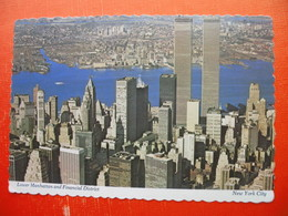 Lower Manhattan And Financial District.WTC - World Trade Center