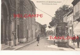 13 // MARSEILLE    MONTOLIVET     Terminus Du Tram - Saint Barnabé, Saint Julien, Montolivet