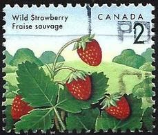 Canada 1992 - Mi 1308 - YT 1263 ( Fruits : Wild Strawberry ) - Oblitérés