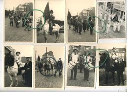 GANSHOREN  :   16 Oude Foto's  : 1957 - 1962 - 1966 :   Sint Martinus   10.5 X 7.5 Cm ( Zie Scans Voor Detail ) - Places