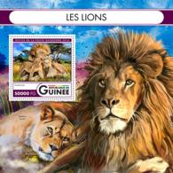 Guinea 2016 Fauna Lions - Guinea (1958-...)