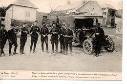 Albert - Automobile De La Poste Transportant La Correspondance Des Militaires Sur Le Front - Albert