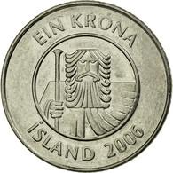 Monnaie, Iceland, Krona, 2006, TTB, Nickel Plated Steel, KM:27A - Islande