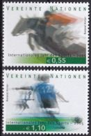 UNO WIEN 2005 Mi-Nr. 441/42 ** MNH - Wien - Internationales Zentrum