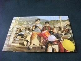 CINA CHINA HONG KONG THE FISHERMEN'S CHILDREN  BAMBINI PESCATORI 1° PIANO - Chine (Hong Kong)