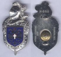 Insigne De La Légion De Gendarmerie En Autriche - Polizia