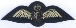 Insigne De La Royal Air Force - Grande Bretagne - Ecussons Tissu