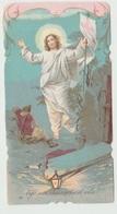 SANTINO  IMAGE PIEUSE  DEVOTIONAL IMAGES GESU' CRISTO RISURREZIONE - Santini