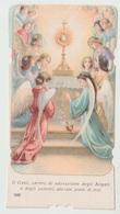 SANTINO  IMAGE PIEUSE  DEVOTIONAL IMAGES GESU' ANGELI IN ADORAZIONE (ACQUISTO MINIMO 4 SANTINI) - Imágenes Religiosas
