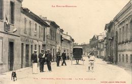 D31  PINSAGUEL  La Rue Principale - Autres Communes