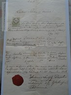 ZA183.1  Old Document -  Lukáčovce Lakács -Slovakia - 1856 - Szammer Carolus - Paulaczky Theresia - Rosalia - Naissance & Baptême