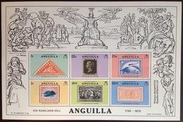 Anguilla 1979 Rowland Hill Minisheet MNH - Anguilla (1968-...)