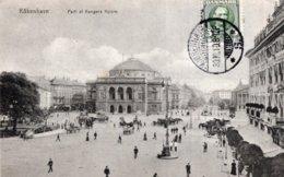 """CPA   DANEMARK---KOBENHAVN---PARTI AF KONGENS NYTORE---TAMPON VIOLET """" TRYKSAGER """"---1910 - Danemark"""