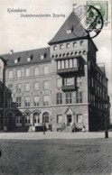 CPA   DANEMARK---KOBENHAUN-----STUDENTERSAMFUNDETS BYGNING---1910 - Danemark