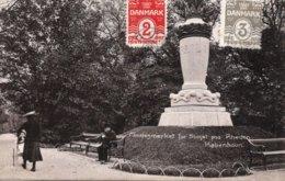 CPA   DANEMARK---KOBENHAUN----MINDEGMAERKET FOR SLAGET PAA RHEDEN --1910 - Danemark