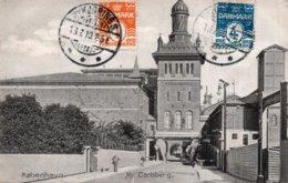 CPA   DANEMARK---KOBENHAUN----NY CARLSBERG --1910 - Danemark
