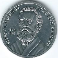 Congo - 50 Centimes - 2002 - Verney L. Cameron (KM123) - Congo (République Démocratique 1998)