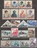 1949-53-59 - YT 334 à 341 - 365 à 372 - 466 à 469 - VC: 38.50 Eur. - Saint-Marin