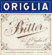"07780 ""BITTER - SUCC. LUIGI ORIGLIA & C. - RIVOLI (TO)"" ETICH. ORIG - Etichette"