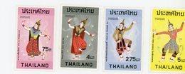 Thailande 1974-Danses Traditionnelles,costumes-MI 713/6***MNH - Thaïlande