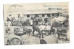 MAROC - OUDJDA - La Douane - Cachet Militaire Au Recto - Autres