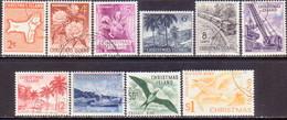 Christmas Island 1963 SG #11-20 Compl.set Used - Christmas Island