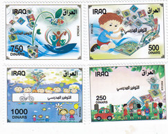 Iraq New Issue 2019, Saving 4 Stamps Complete Set MN-  SKRILL PAYMENT ONLY - Iraq