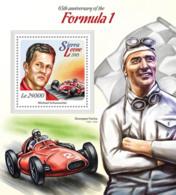 Sierra Leone 2015  Formula 1 ,racing Car - Sierra Leone (1961-...)