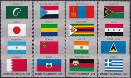 UNO NEW YORK 1987 Mi-Nr. 524/39 ** MNH - New York -  VN Hauptquartier