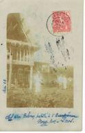 LAOS - Carte Photo Chef KHA Boloven Habillé à L'Européenne Noug-Bok-1907 Exp   Chef  Bureau Militaire  Garde Indigène - Laos