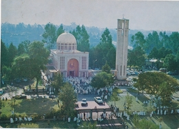ADDIS ABABA,  ESTIFANOS CHURCH , ETHIOPIA,  Beautiful Stamp 1977 - Vintage Old Photo Postcard - Äthiopien