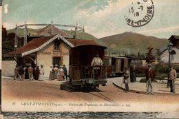 SAINT ETIENNE STATION DES TRAMWAYS DE GERARDMER - Saint Etienne De Remiremont