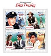 Sierra Leone 2015  Elvis Presley - Sierra Leone (1961-...)