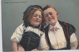 Cartolina - Postcard / Viaggiata - Sent /  Coppia Di Bambini In Costume Svizzero - Enfants